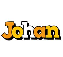 Johan cartoon logo