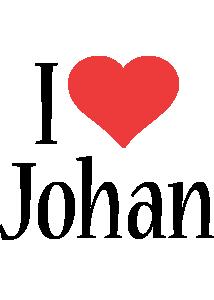 Johan i-love logo