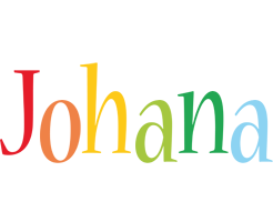Johana birthday logo