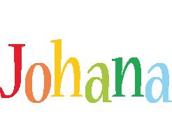 Johana birthday logo