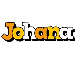 Johana cartoon logo