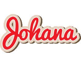Johana chocolate logo