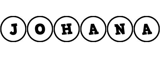 Johana handy logo