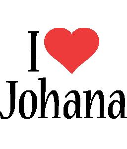 Johana i-love logo