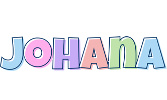 Johana pastel logo