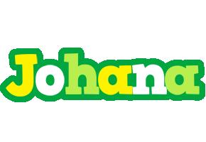 Johana soccer logo