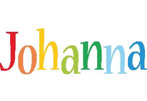 Johanna birthday logo
