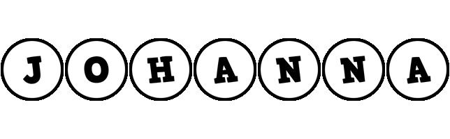 Johanna handy logo