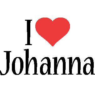 Johanna i-love logo