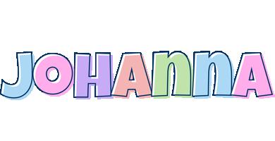 Johanna pastel logo
