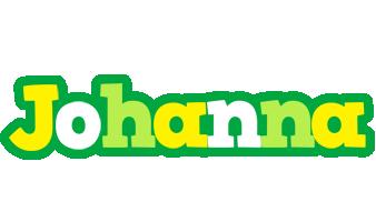 Johanna soccer logo