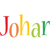 Johar birthday logo