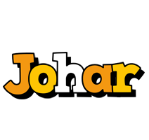 Johar cartoon logo