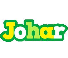 Johar soccer logo