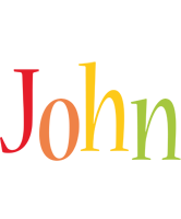 John birthday logo