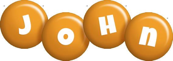 John candy-orange logo