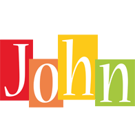 John colors logo