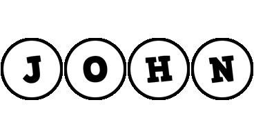 John handy logo