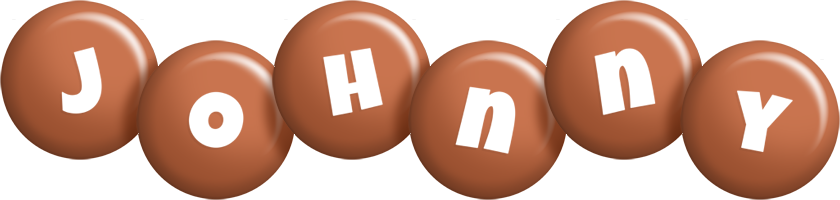 Johnny candy-brown logo