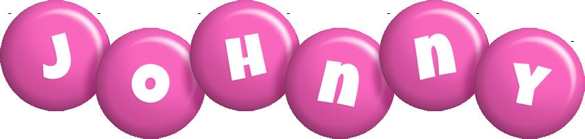 Johnny candy-pink logo