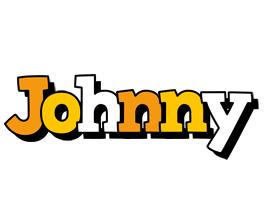 Johnny cartoon logo
