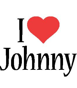 Johnny i-love logo