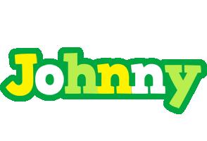 Johnny soccer logo