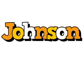 Johnson cartoon logo