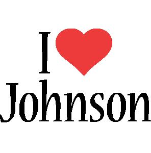 Johnson i-love logo