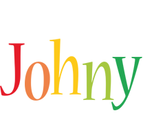 Johny birthday logo