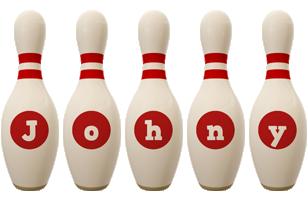 Johny bowling-pin logo