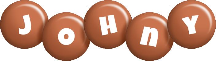 Johny candy-brown logo