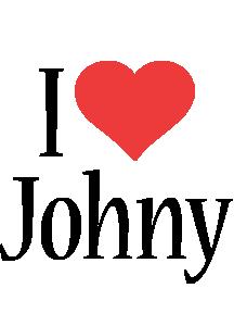 Johny i-love logo