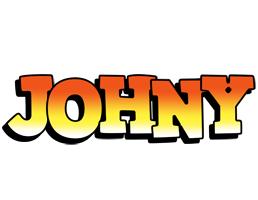 Johny sunset logo