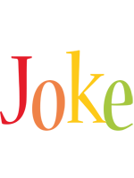 Joke birthday logo