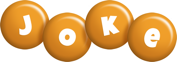 Joke candy-orange logo