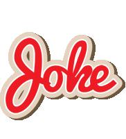 Joke chocolate logo