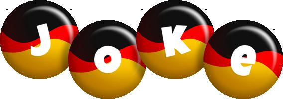 Joke german logo