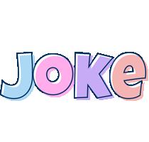 Joke pastel logo