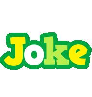Joke soccer logo