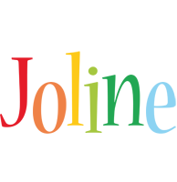 Joline birthday logo