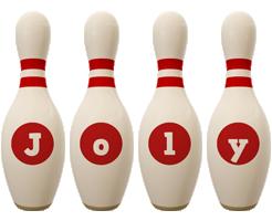 Joly bowling-pin logo