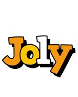 Joly cartoon logo