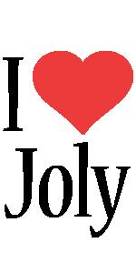 Joly i-love logo