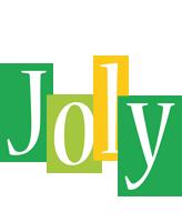 Joly lemonade logo