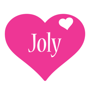 Joly love-heart logo