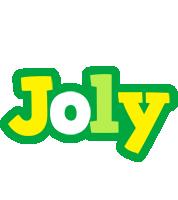 Joly soccer logo