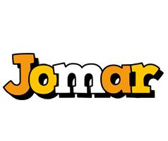 Jomar cartoon logo