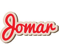 Jomar chocolate logo