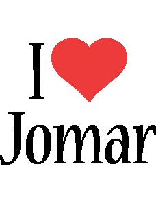 Jomar i-love logo